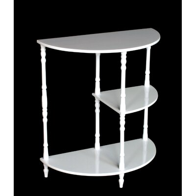 Rent Multi Tiered End Table Finish: Whit...