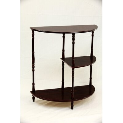 Financing Multi Tiered End Table Finish: Cher...