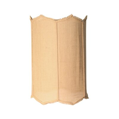 Burlap 19 Drum Lamp Shade