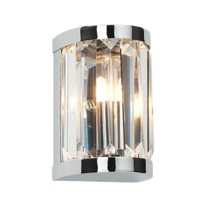 Saxby Lighting Crystal 1 Light Flush Light