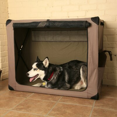 Digs Collapsible Pet Crate Size: Large