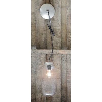 Mason Jar 1-Light Hanging Lantern