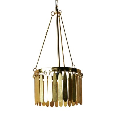Flirt 1-Light Drum Pendant