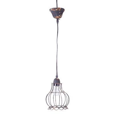 Honey Grey 1-Light Mini Pendant