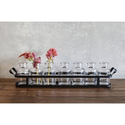 8 Piece Table Vase Set