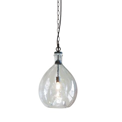 Haubert Mini Pendant Finish: Clear