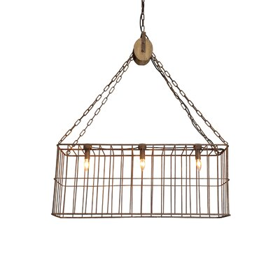 Wabansia 3-Light Pendant