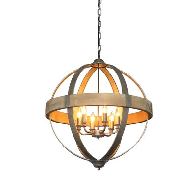 Grange 6-Light Foyer Pendant