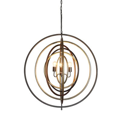 Greaney 3-Light Foyer Pendant