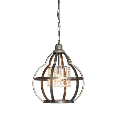 Wachtel 1-Light Schoolhouse Pendant