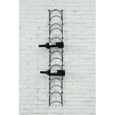 Dismuke 7 Bottle Wall Mounted Wine Rack