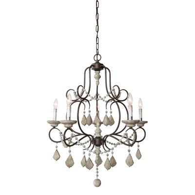 Marchant 5-Light Candle-Style Chandelier