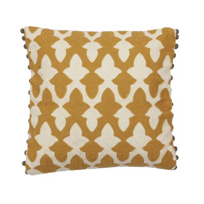 Honey Cotton Throw Pillow