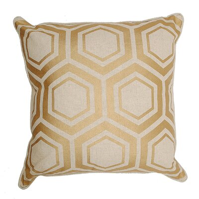 Flirt Cotton and Linen Throw Pillow