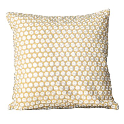 Honey Cotton and linen Throw Pillow