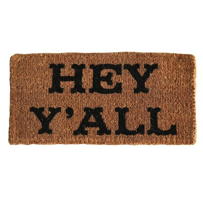 Sayings Hey YAll Doormat