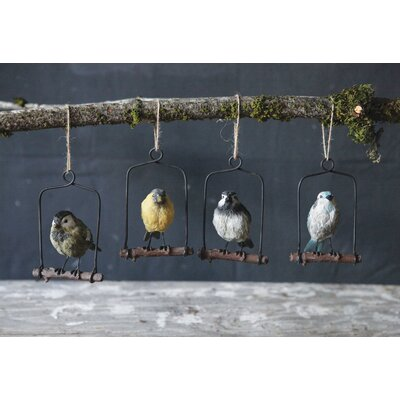 Bird Ornament (Set of 4)