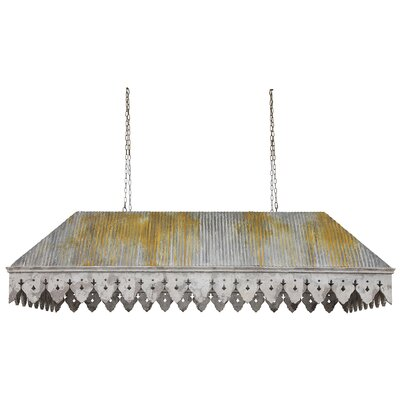 Botanist Metal/Wood Rectangular Shade