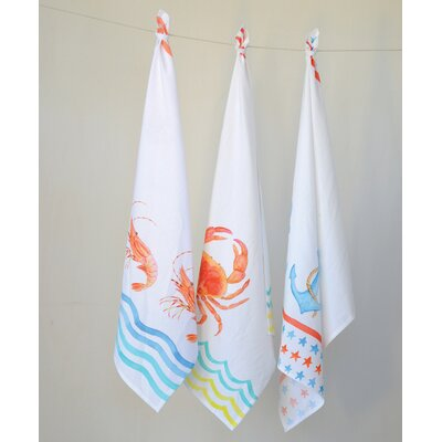 Waterside 3 Piece Towel Set