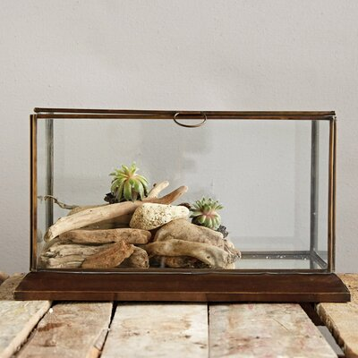 Metal Framed Glass Display Box DA6535