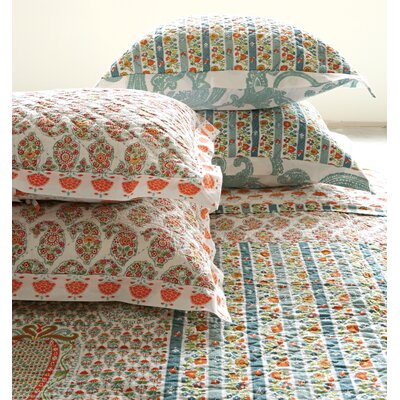 Bungalow Lane Screen Printed Standard Sham