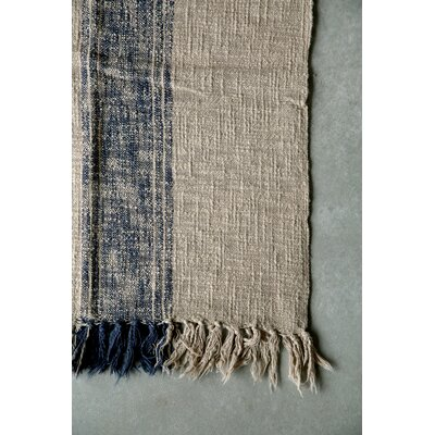 Casual Country Cotton Throw Blanket Color: Navy