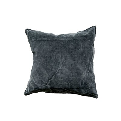 Chateau Throw Pillow Color: Charcoal