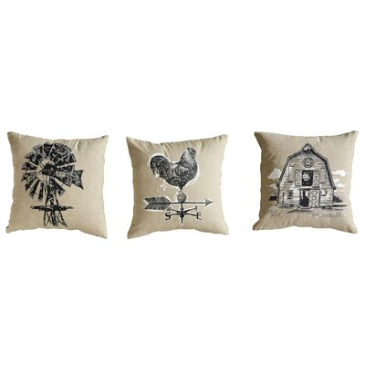 Grange 3 Piece Throw Pillow Set