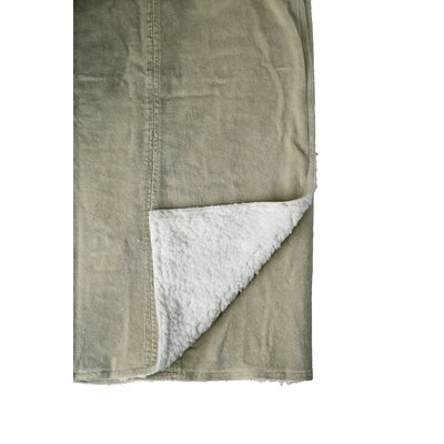 Chateau Sandwashed Throw Color: Beige