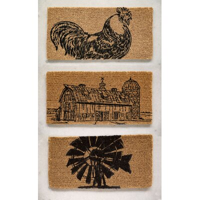 Grange 3 Piece Farm Doormat Set