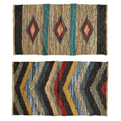 Louisa 2 Piece Multi Color Area Rug Set
