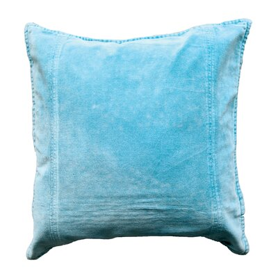 Bungalow Lane Throw Pillow Color: Duck Egg