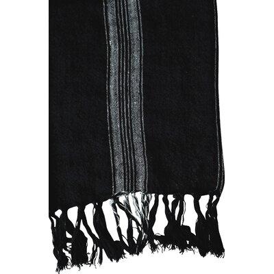 Smudge Linen Throw Blanket