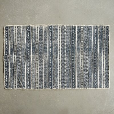 Waterside Blue Area Rug
