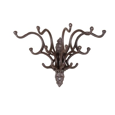 Shabby Cottage Chic Iron Wall Hook Home Decor
