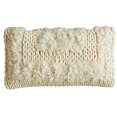 Pure Tribal Natural Wool Lumbar Pillow