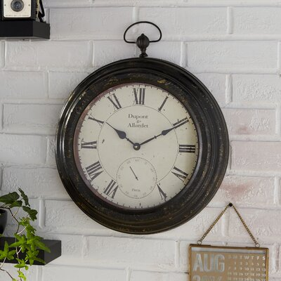 Lida Metal Pocket Wall Clock 2CF060ACA32D4EAD92A43B39008FD346