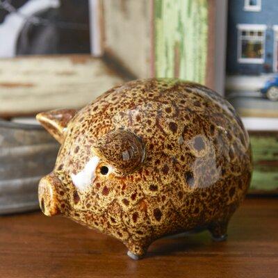 Stoneware Pig Figurine DA3908SET