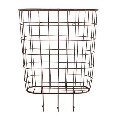 Metal Basket Wall D�cor 53EF32340E1041E08B797B2260264BEA