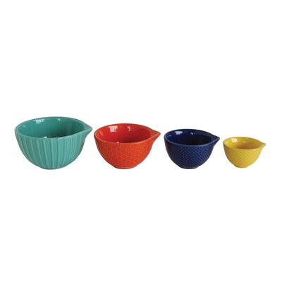 Waterside 4-Piece Stoneware Measuring Cup Set DA7241
