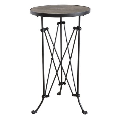 Collected Notions Metal End Table