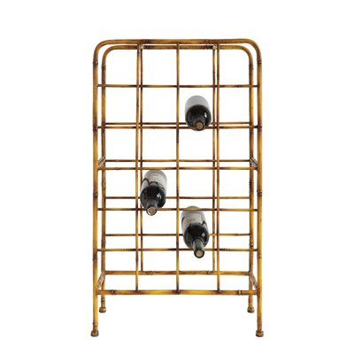Metal 24 Bottle Floor Wine Bottle Rack