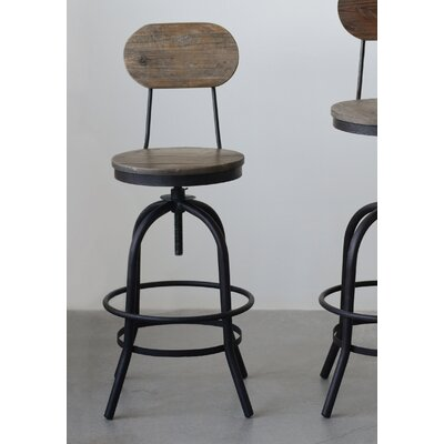 Belden Adjustable Height Swivel Bar Stool