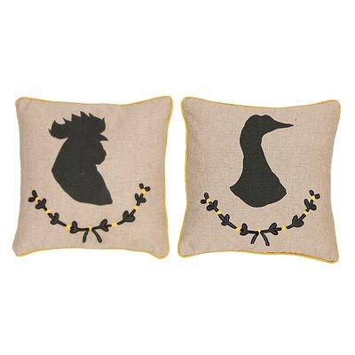 Yussuf 2 Piece Throw Pillow Set