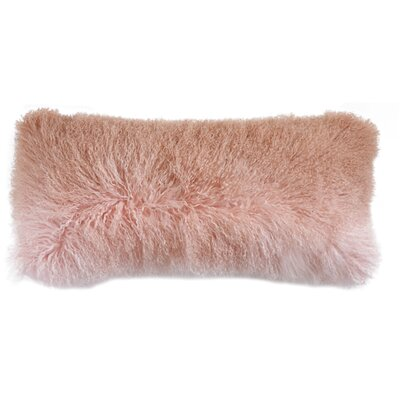 Blucher Mongolian Fur Lumbar Pillow