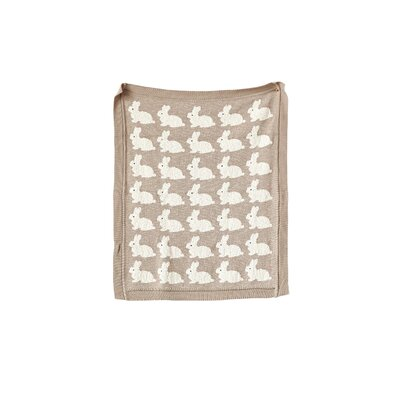 Joya Rabbit 100% Cotton Blanket