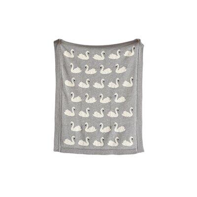 Marlyn Swan 100% Cotton Blanket