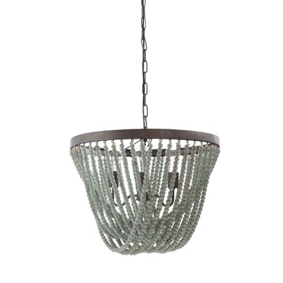 Nicci 3-Light Bowl Pendant