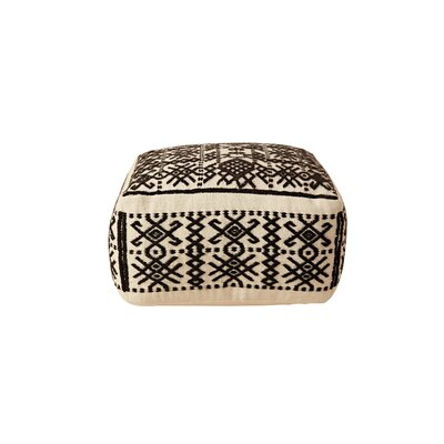 Priestly Truck Ship Wool Hand-Woven Ottoman