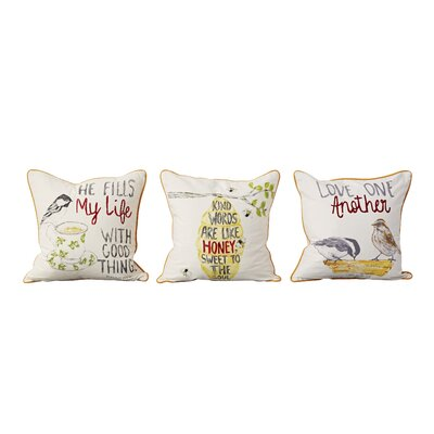Ambleside 100% Cotton Throw Pillow